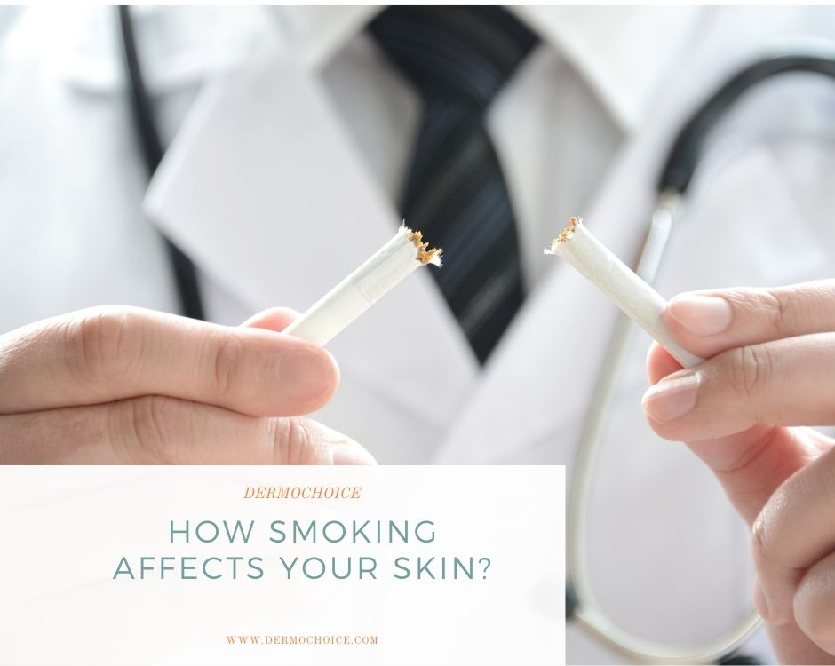 Smoking Affects into Skin